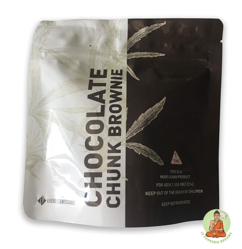 Evergreen Organix Chocolate Chunk Brownie Packaging