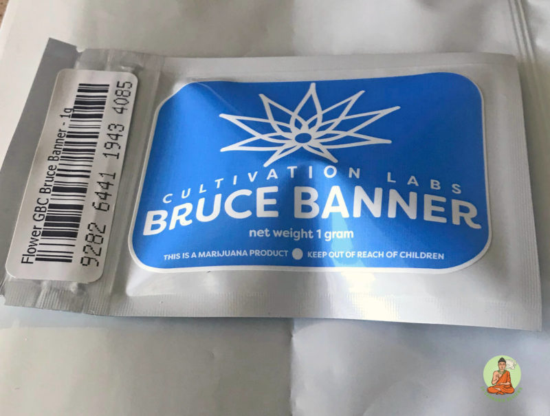 Ghb Cultivation Labs Bruce Banner Packaging