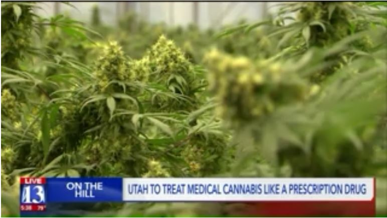 Utah will treat medical cannabis just like any other prescription drug