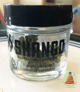 Shango: A-Dub by Shango (Indica- Dominant Hybrid)