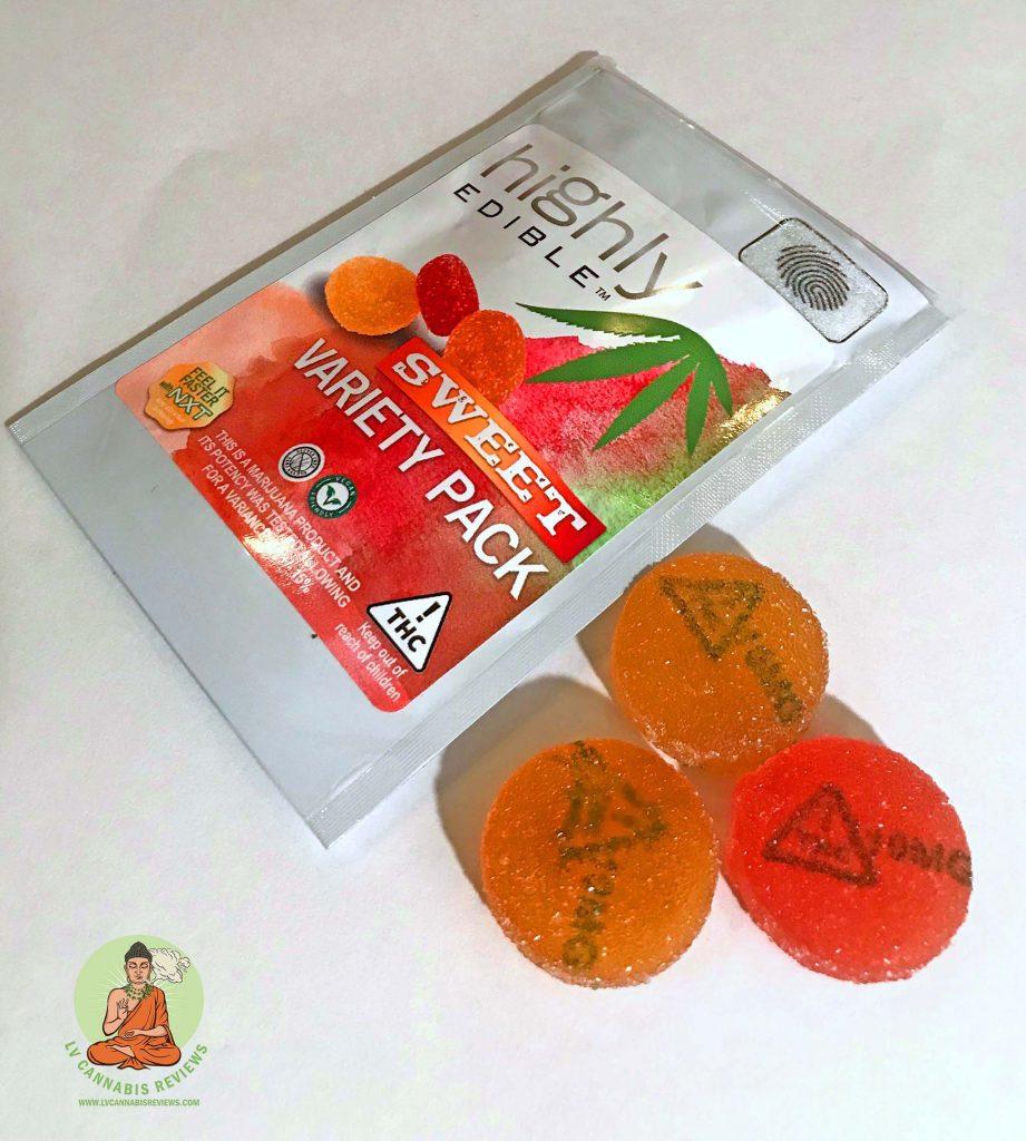Sweet Sativa Pucks and Packaging