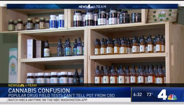Popular Police Field Tests Can't Tell the Difference Between CBD and Marijuana