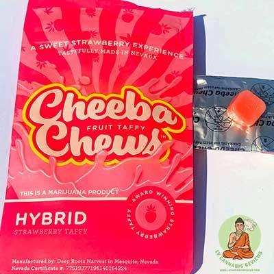 Strawberry Cheeba Chews