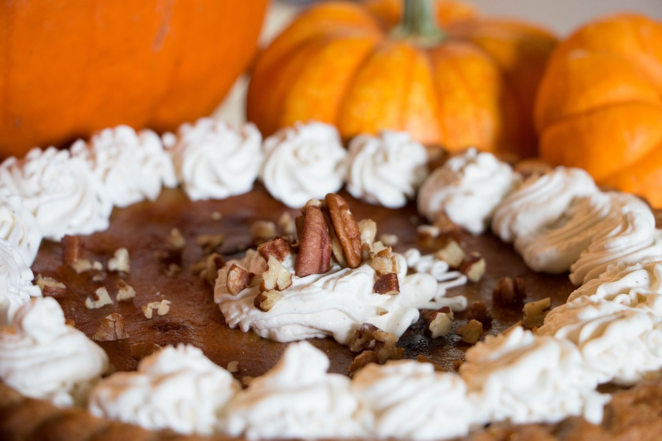 A Stoney (But Seasonal) Pumpkin Pecan Pie