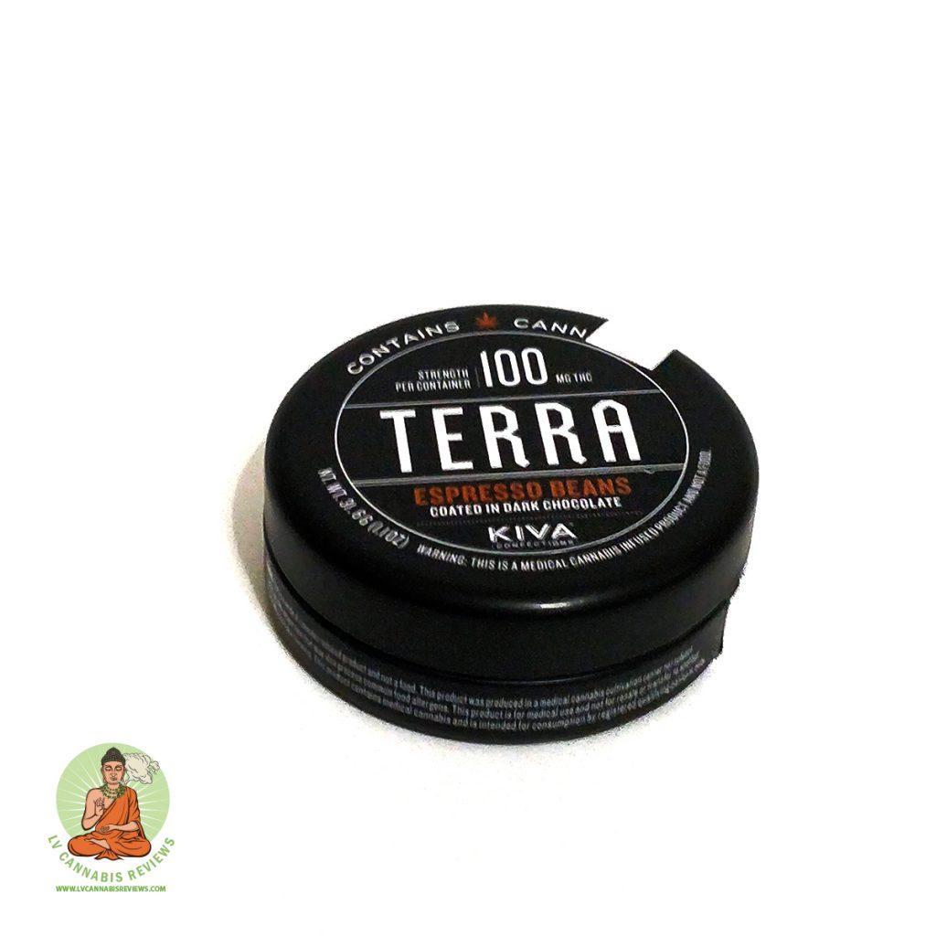 KIVA Confections Terra Bites chocolate coated espresso beans Review November 2019 Nature's Care Dispensary.