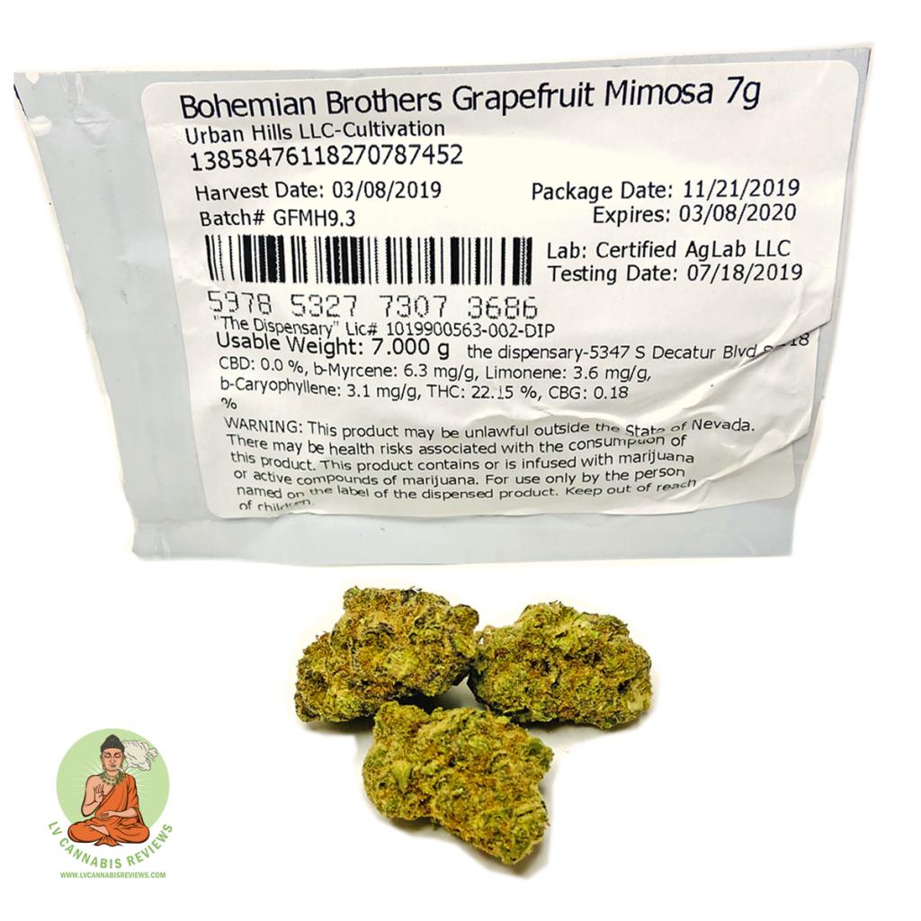 Bohemian brothers grapefruit Mimosa 1