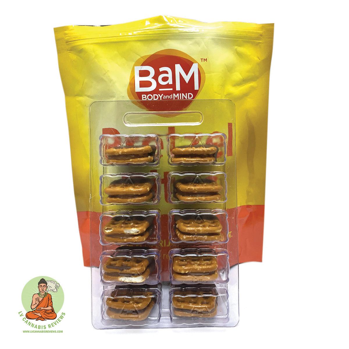 BaM Caramel & Chocolate Pretzel Bites Review December 2019 Planet 13 Dispensary