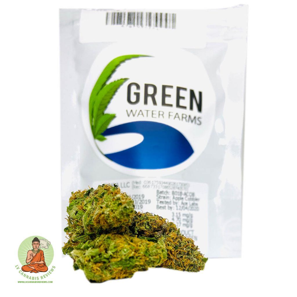 Green Water Apple Pie Review Thrive Cannabis Marketplace Dispensary January 2020
