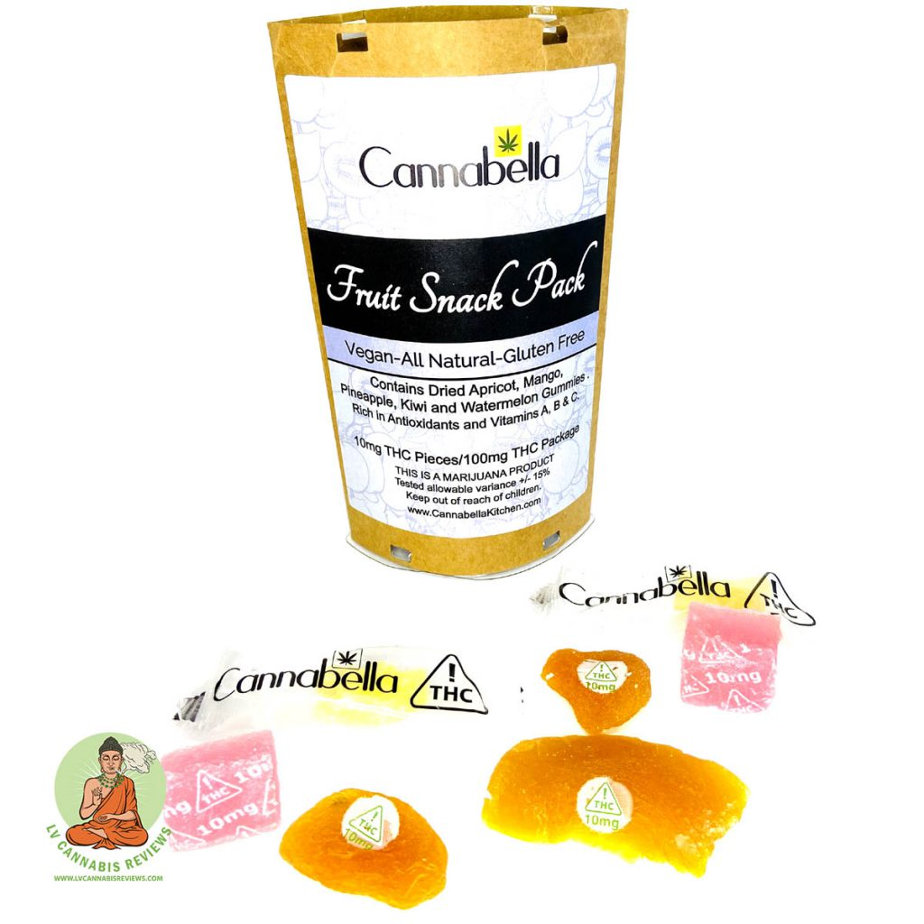 Fruit Snack Pack (cannabella) Review