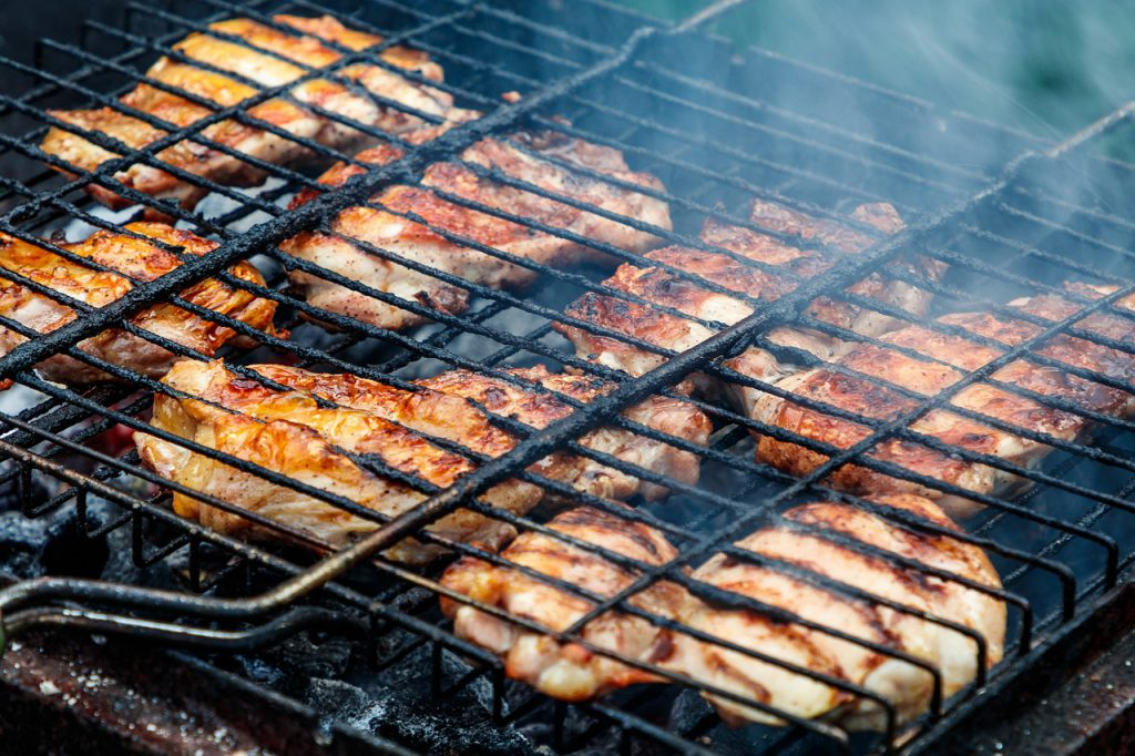 Here's How To Make Grilled Cannabis Chicken Thighs
