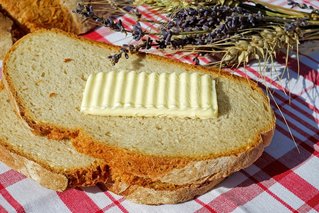 Potent Cannabis Infused Butter and Bread