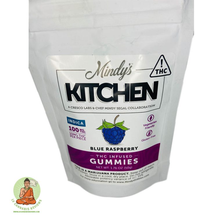 Mindy's Kitchen Raspberry Gummies Review NuWu Cannabis Marketplace Dispensary January 2020