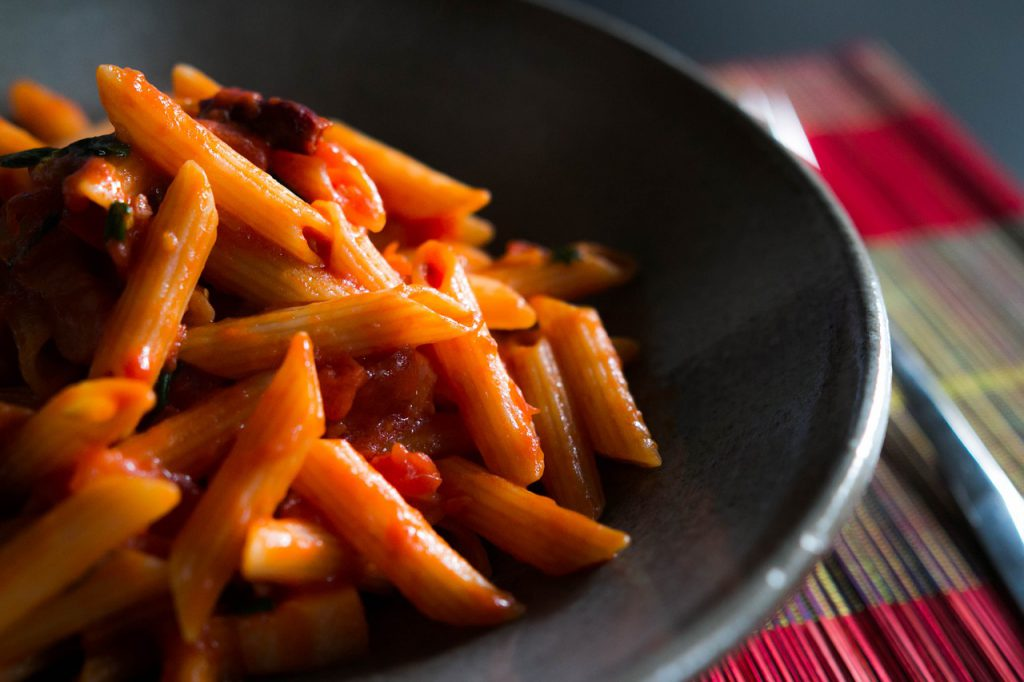 Step-By-Step Recipe For Pot Penne Arrabiata