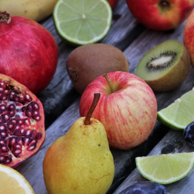 Stay Healthy (And High) With This THC Spiced Pears & Pomegranate Recipe