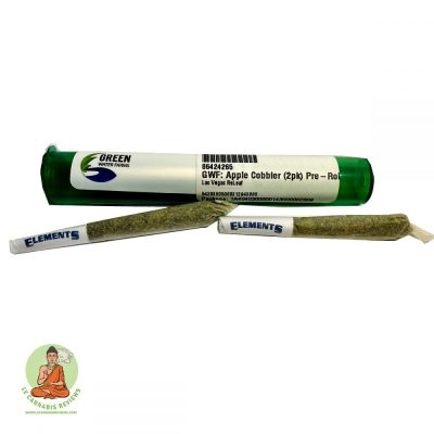 Apple Cobbler pre-roll 2 pack
