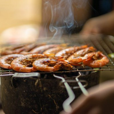 Impress Your Friends With This THC Honey Grilled Shrimp Recipe