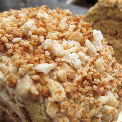 Start Your Day Off Right With Some Apple Crumb Cannabis Coffee Cake