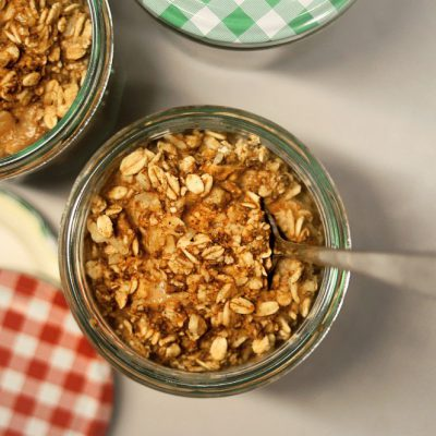 This Recipe For Weed Apple Oatmeal Crisp Is Phenomenal